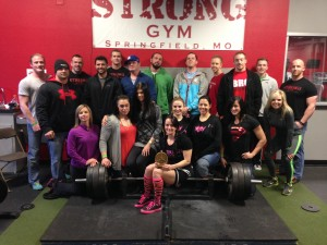 Team Gorman Takes on the SPF Missouri State Powerlifting Championships at STRONG GYM